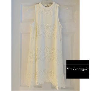 Fire Los Angeles Summer Lace Dress